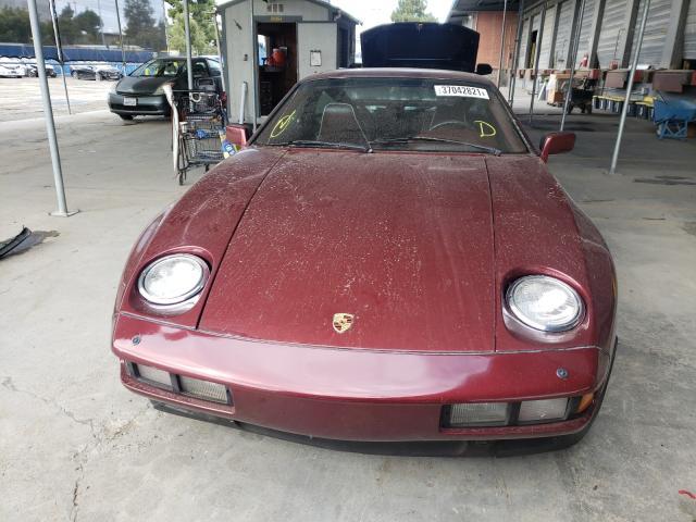 1984 Porsche 928 S Burgundy