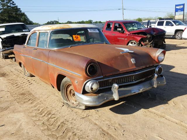 1955 Ford Crown Vict Brown  - front right view