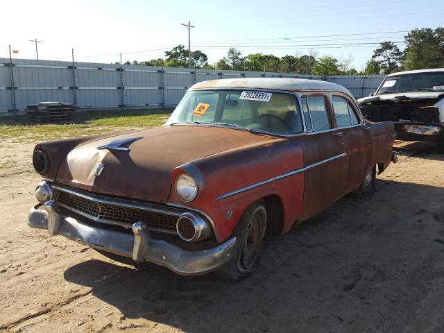 1955 Ford Crown Vict Brown  - front left view