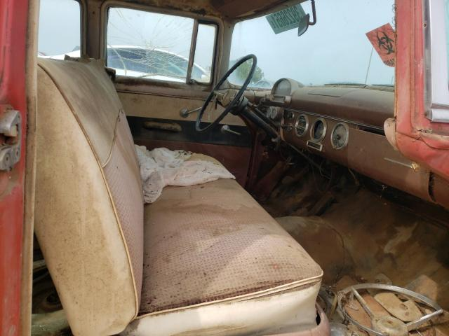 1955 Ford Crown Vict Brown  - interior - front