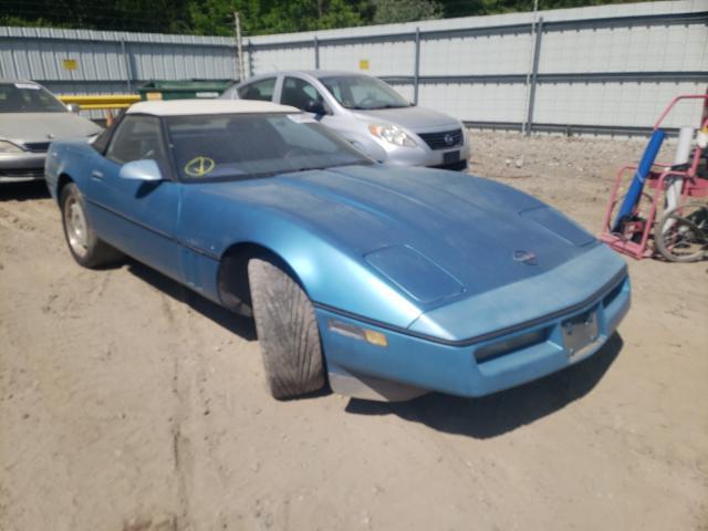 1988 Chevrolet Corvette Blue  - front right view