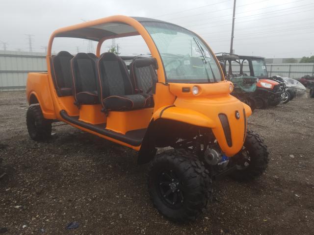2008 Glbl E6 Orange  - front right view