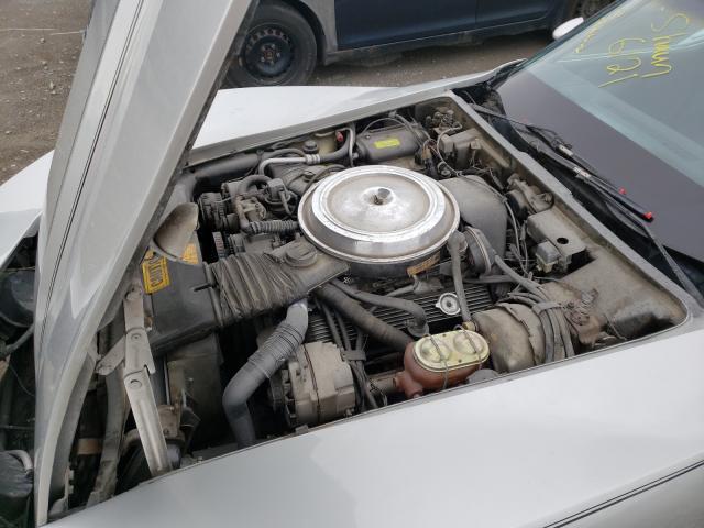 1981 Chevrolet Corvette Gray  - engine