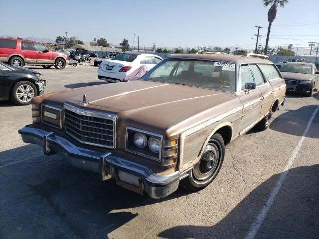 1975 Ford Ltd Brown  - front left view
