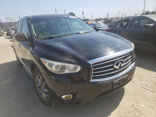 2013 Infiniti Jx35 Black  - front right view