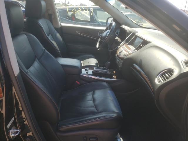 2013 Infiniti Jx35 Black  - interior - front