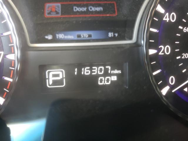 2013 Infiniti Jx35 Black  - odometer