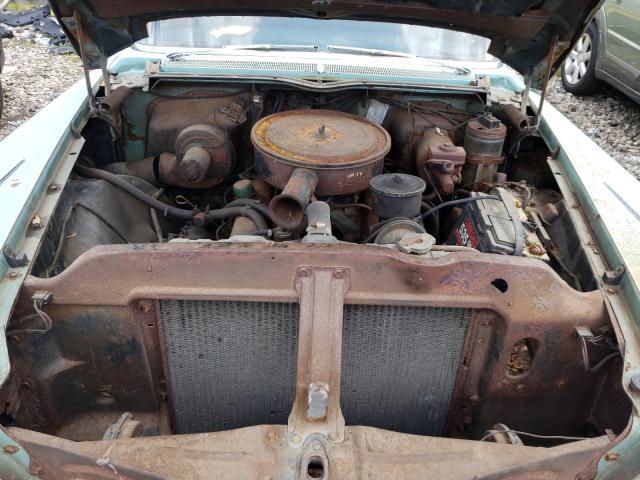 1958 Buick Special Teal  - engine