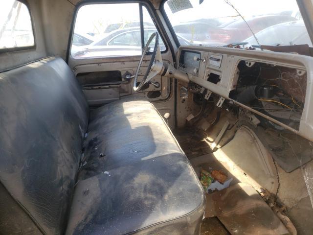1965 Chevrolet 10 White  - interior - front