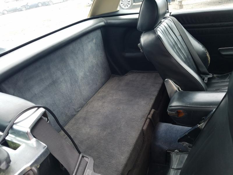 1987 Mercedes Benz 560 Sl Black  - back view