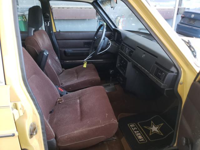 1979 Volvo 244 Dl Yellow  - interior - front