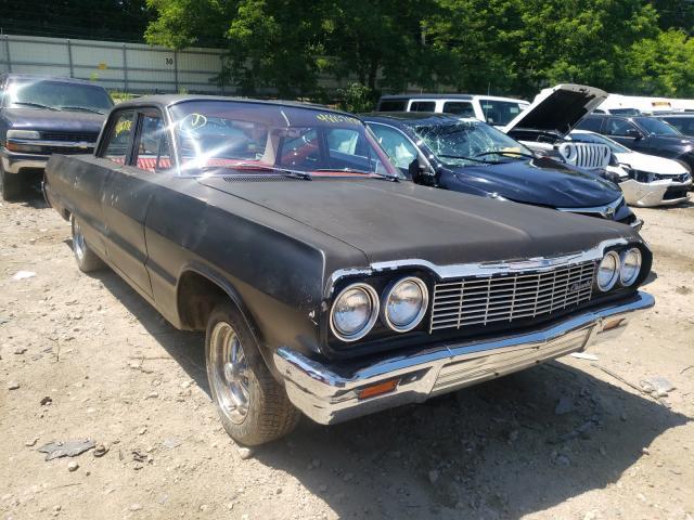 1964 Chevrolet Biscane Black  - front right view