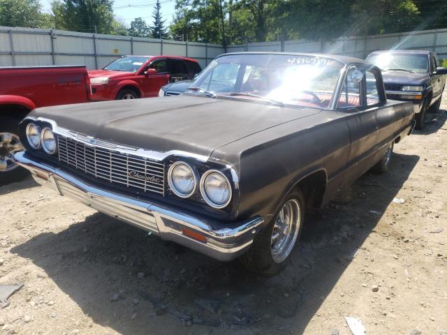 1964 Chevrolet Biscane Black  - front left view