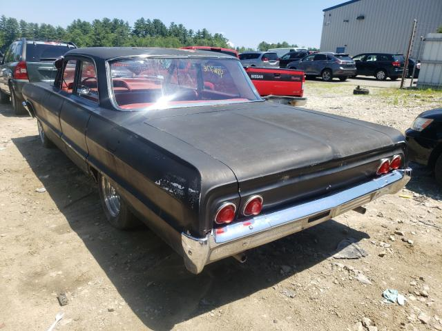 1964 Chevrolet Biscane Black  - rear left view