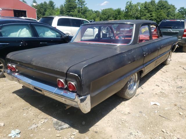 1964 Chevrolet Biscane Black  - rear right view