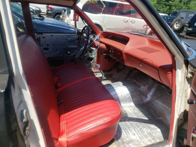 1964 Chevrolet Biscane Black  - interior - front