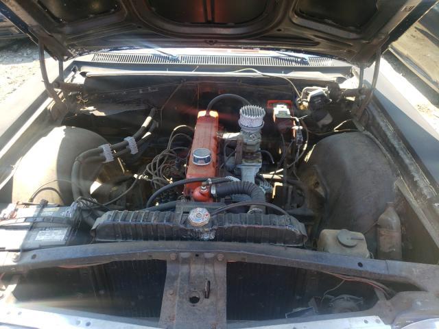 1964 Chevrolet Biscane Black  - engine
