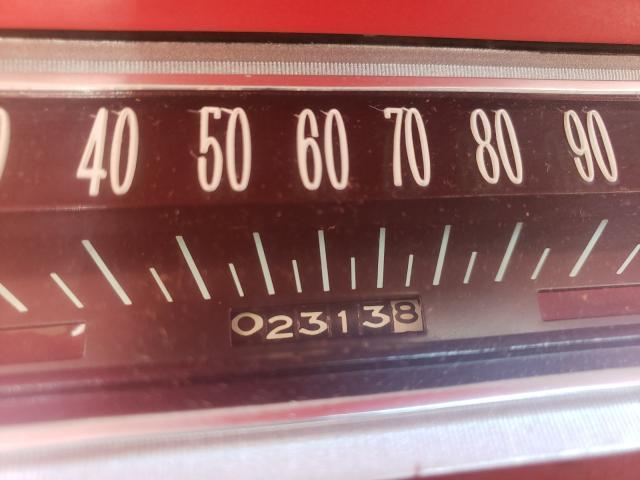 1964 Chevrolet Biscane Black  - odometer