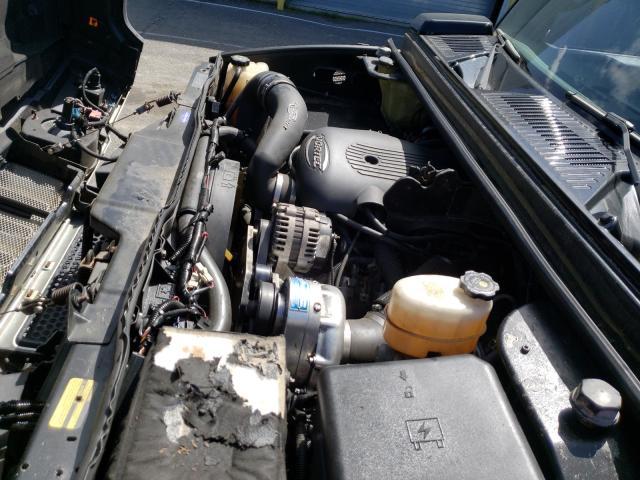 2003 HUMMER H2 Black  - engine
