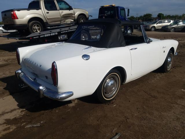 1965 Sunb Alpine White  - rear right view