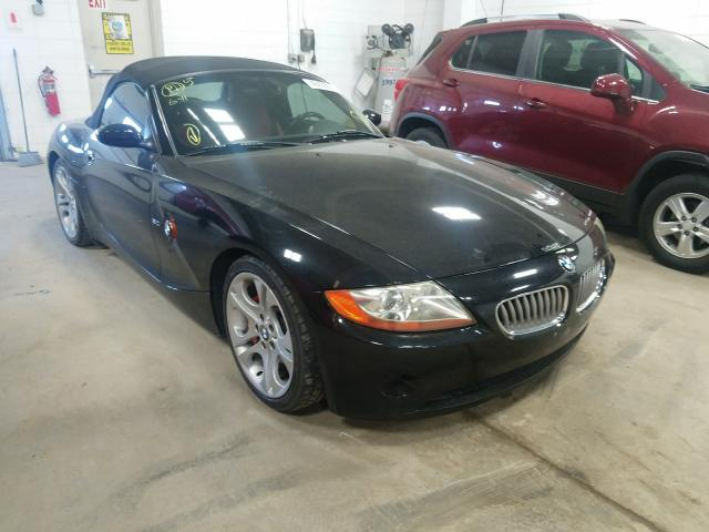 2004 Bmw Z4 3.0 Black  - front right view