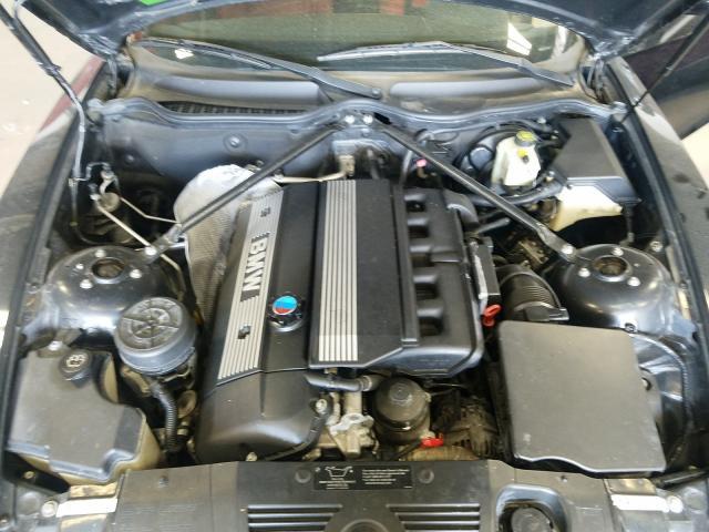 2004 Bmw Z4 3.0 Black  - engine