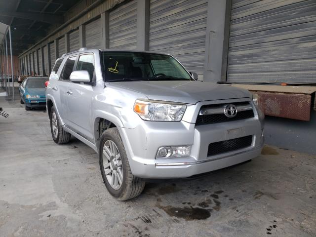 2011 Toyota 4runner Sr Gray  - front right view