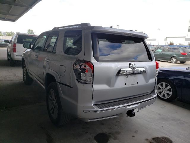 2011 Toyota 4runner Sr Gray  - rear left view
