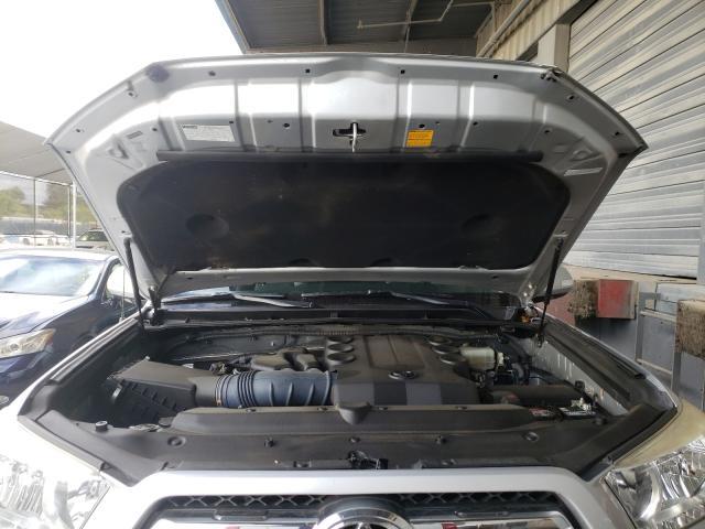 2011 Toyota 4runner Sr Gray  - engine