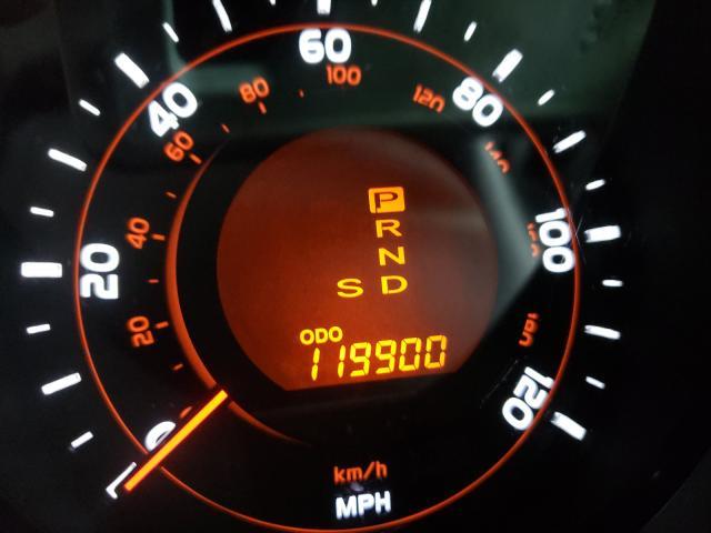 2011 Toyota 4runner Sr Gray  - odometer