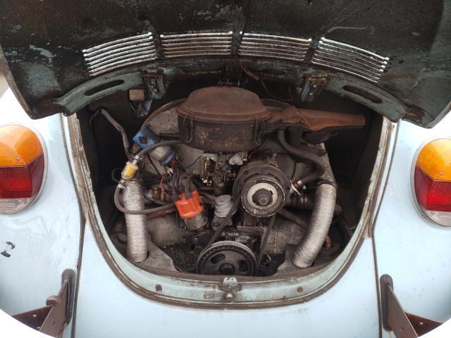 1973 Volkswagen Beetle Turq  - engine