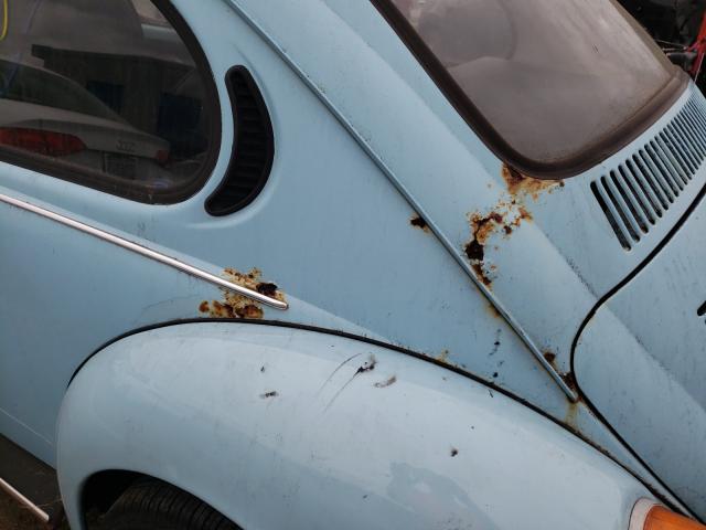 1973 Volkswagen Beetle Turq