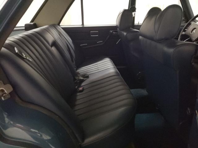 1974 Mercedes Benz 240 Blue  - back view