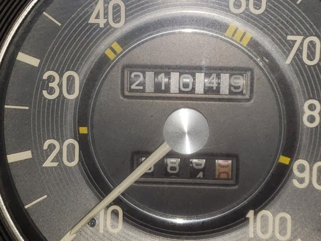 1974 Mercedes Benz 240 Blue  - odometer