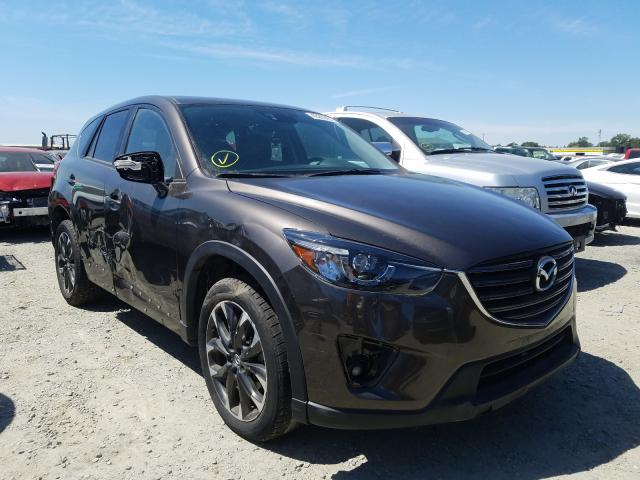 2016 Mazd Cx-5 Gt Gray  - front right view