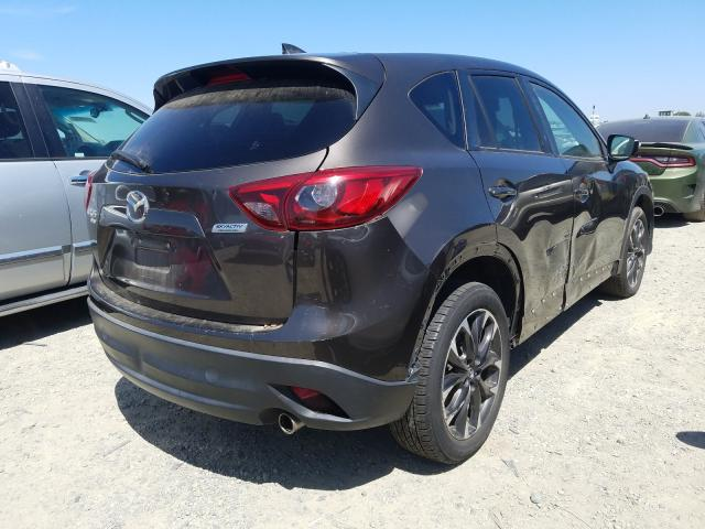 2016 Mazd Cx-5 Gt Gray  - rear right view