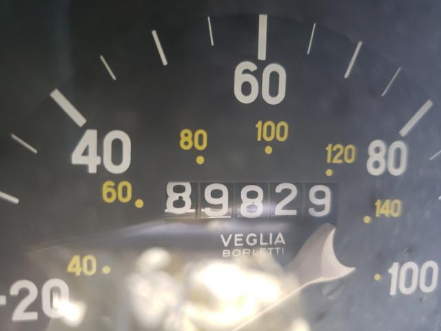 1972 Fiat Spider Yellow  - odometer