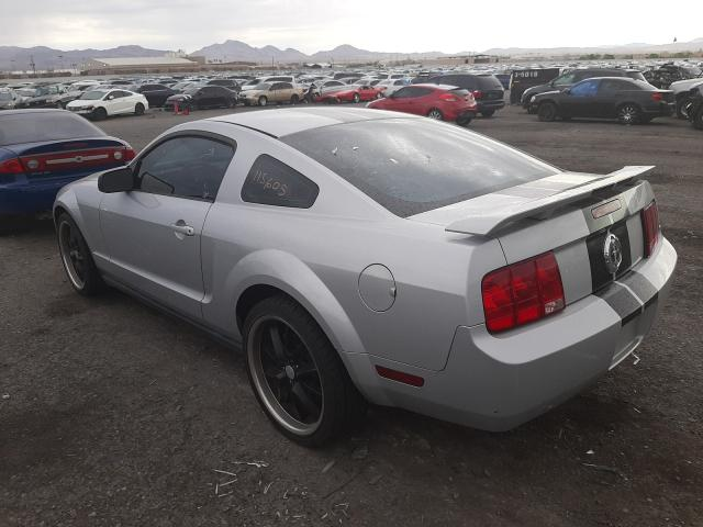 2007 Ford Mustang Gray  - rear left view