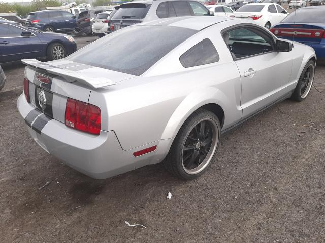 2007 Ford Mustang Gray  - rear right view