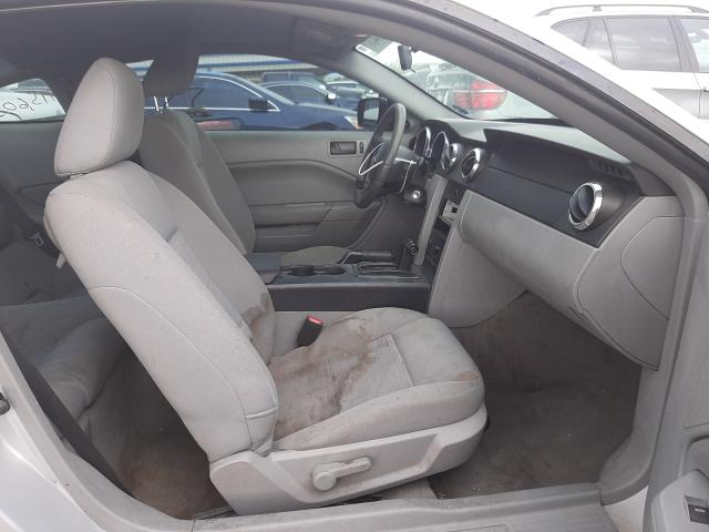 2007 Ford Mustang Gray  - interior - front