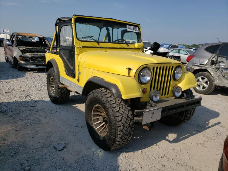 1967 Jeep Cj-5 Yellow  - front right view