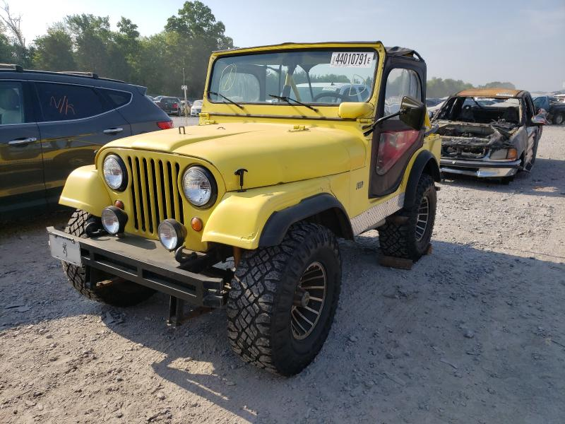 1967 Jeep Cj-5 Yellow  - front left view