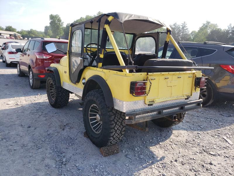 1967 Jeep Cj-5 Yellow  - rear left view