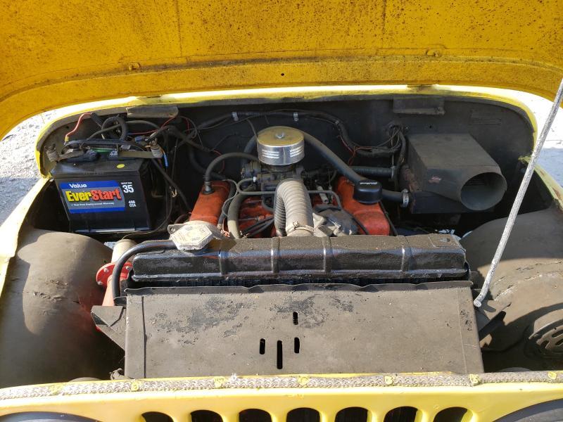 1967 Jeep Cj-5 Yellow  - engine
