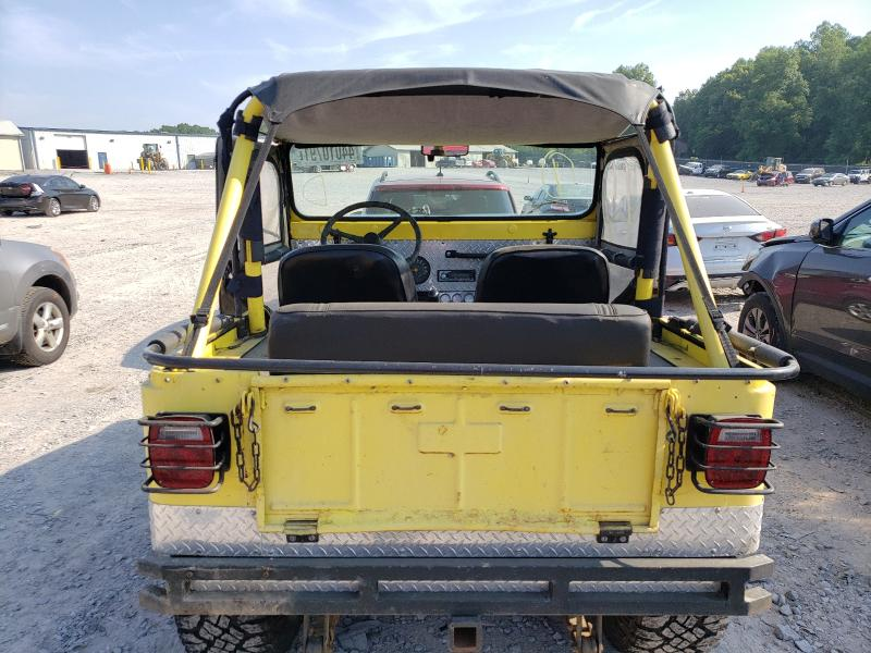 1967 Jeep Cj-5 Yellow