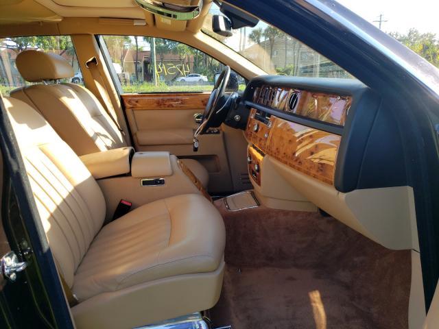 2006 Rol Phantom Burgundy  - interior - front