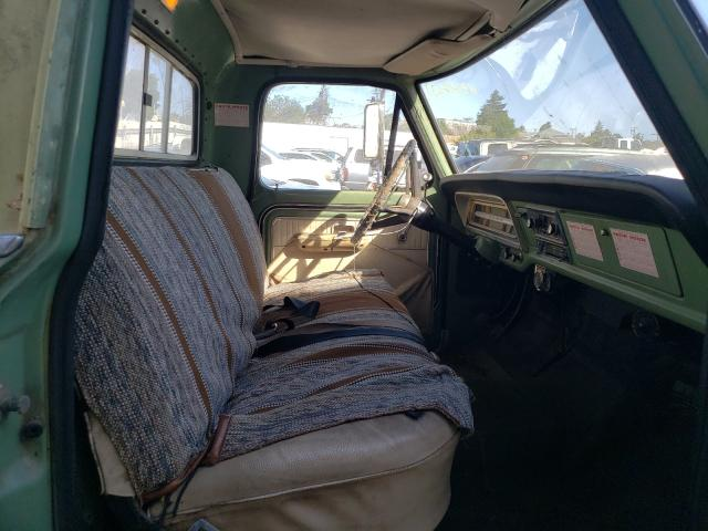 1970 Ford F-100 Green  - interior - front