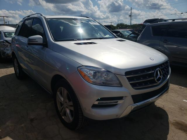 2013 Mercedes Benz Ml 350 Blu Silver  - front right view