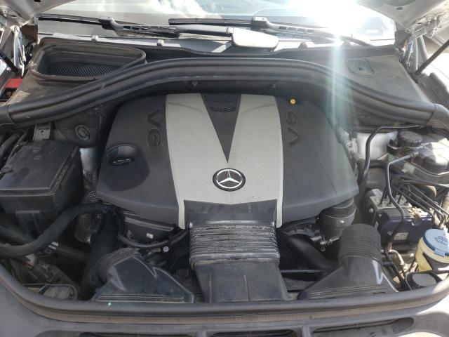 2013 Mercedes Benz Ml 350 Blu Silver  - engine
