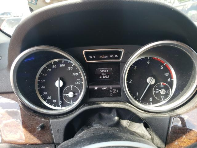 2013 Mercedes Benz Ml 350 Blu Silver  - odometer